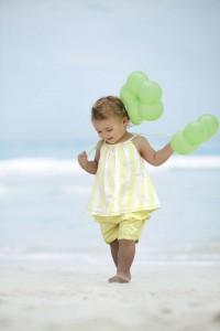99 Luftballons? Mindestens! Modisches Outfit für den Strand