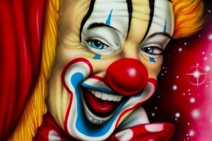Stimmungsmacher: Die Clowns im Circus Louis Knie in Wien