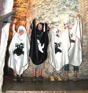 Geisterstunde im Familienurlaub auf Schloss Thannegg