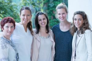 Die Baby-Party-Expertinnen feierten mit Melanie Scheriau ihren Baby shower