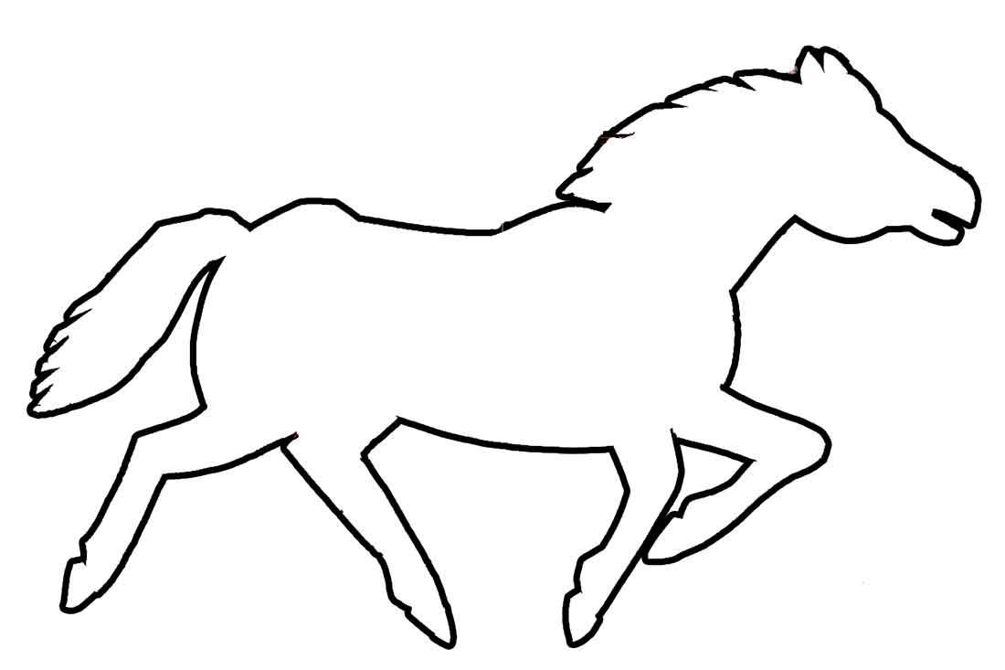pferde bilder malen