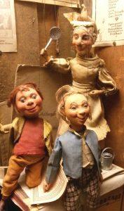 """""""Max und Moritz"""" im Salzburger Marionettentheater"""