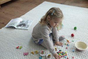 Schadstofffrei im Kinderzimmer: Teppich Ambo von Grüne Erde