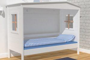 Kinderbett zum Spielen und Kuscheln, gesehen bei den Raumelfen