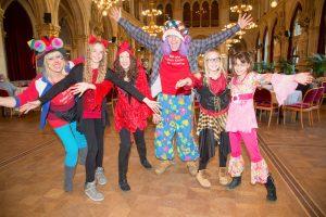 Kinder lieben das Verkleiden: Faschingsfest im Wiener Rathaus