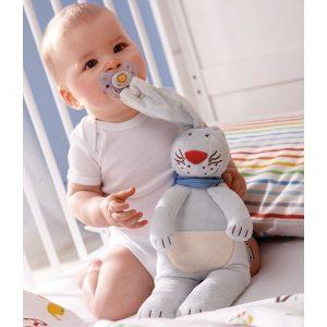 Schnullerhase für Babys, gesehen bei Jako-o.at