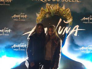 Die Show kann beginnen: Bei Amaluna in Wien!