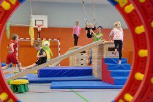 Bewegung und Action für Kinder und Eltern …