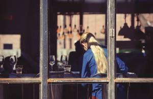 In Cafés sind stillende Mütter oft unerwünscht.