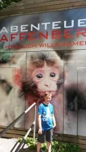 Spaß am Affenberg