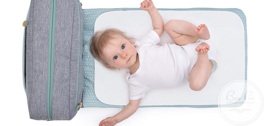 Wickeltasche nach Babys Geschmack