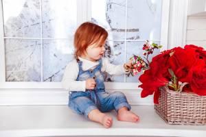 Vorsicht: Fenster können für die Kleinen zur Sturz-Falle werden.
