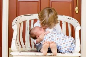 Familienzuwachs: Zwei sind mehr als eines.