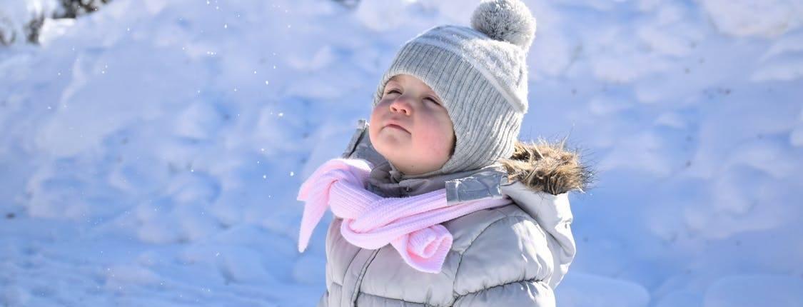 Kindgerechte Hautpflege im Winter