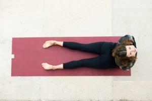 Maria Strauss: Yoga für´s Wohlbfinden.
