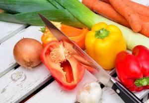 Unbedingt auf gesunde Kost achten!
