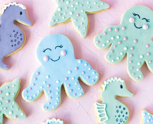 Meerjungfrauen Cookies