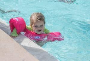 Badeunfälle passieren schnell. Kinder immer beobachten.