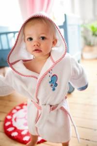 BabyGlück Kapuzenbademantel von Coppenrath