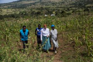 Die Lebensbedingungen in Kenia sind hart.