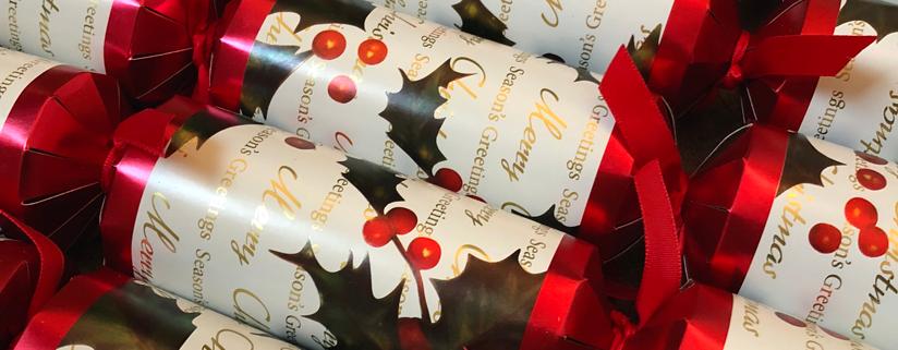 Fröhliche Weihnachten: Crackers bei Partytime.at