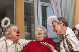 Lachen ist einfach die beste Medizin.