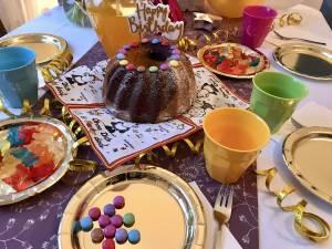 Happy Birthday! Und die Gäste können kommen …