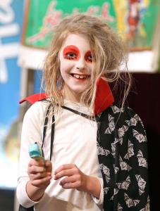 Verkleidung macht Spaß und dient der Entwicklung der Kids.