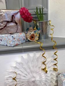 Klassiker für die Geburtstagsparty: Luftballons, Luftschlangen, Lampions