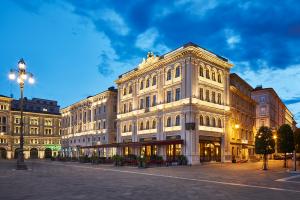 Familienstädtereise nach Triest: das Grand Hotel Ducchi d'Aosta