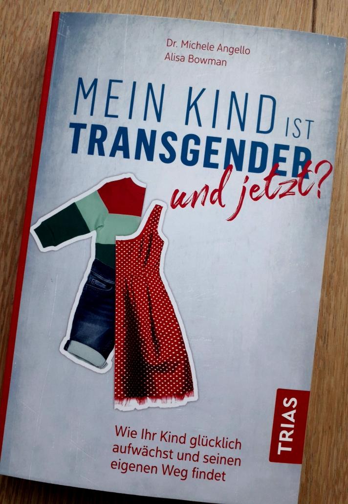 """Buchcover: """"Mein Kind ist Transgender"""""""