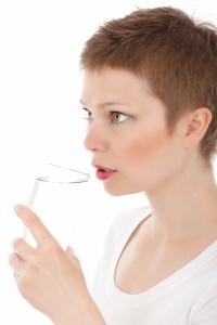 Beim Fasten viel trinken