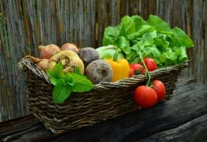 Viel Gemüse beim Basenfasten