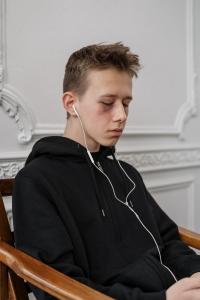 Trauriger Jugendlicher